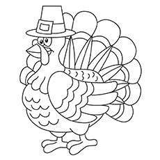 Thanksgiving Coloring Pages Centerpiece