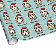 Guinea pig wrapping paper!