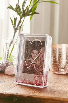 Instax Heart Glitter Frame from Urban Outfitters. Shop more products from Urban Outfitters on Wanelo. Glitter Picture Frames, Polaroid Picture Frame, Glitter Frame, Polaroid Pictures, Polaroid Ideas, Polaroid Instax Mini, Cute Room Decor, Mini Things, Do It Yourself Projects