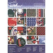 Papermania A Christmas Wish A4 Ultimate Die Cut Paper Pack