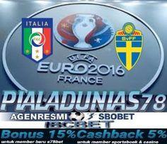 Prediksi Skor Bola Italia vs Swedia 17 Juni 2016