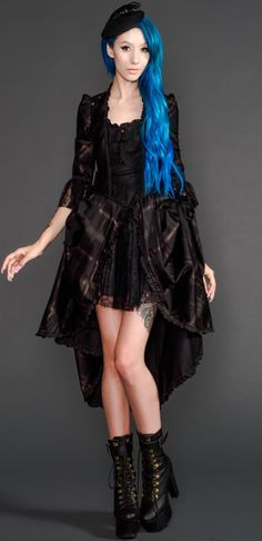 lip service step in time dress - Google Search black with gold