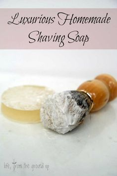 Homemade Shaving Soap Make your morning shave more enjoyable with this creamy shave soap!Make your morning shave more enjoyable with this creamy shave soap! Shave Soap Recipe, Diy Savon, Shaving Soap, Shaving Brush, Shaving Cream, Men Shaving, Shaving Tips, Mens Soap, Bay Rum