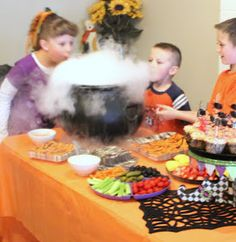 Crafty Sisters: A Halloween Birthday Party