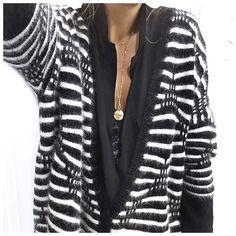 • Knit #finecollection (on @finecollection) • Shirt #lesprairiesdeparis • Bra #zara • Necklace #adelineaffre (on @adelineaffre) ...