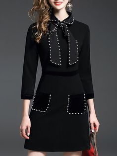 Latest unique fashion dresses StyleWe provides short and long cocktail dresses for wedding and prom. 60 Fashion, Fashion 2020, Unique Fashion, Fashion Dresses, Embroidery Fashion, Long Cocktail Dress, Western Dresses, Mode Vintage, Casual Dresses
