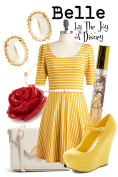 Outfit inspired by Belle from the movie Beauty & the Beast!
