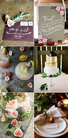 Inspirational Wedding Ideas #228: Fig Inspired - http://www.diyweddingsmag.com/inspirational-wedding-ideas-228-fig-inspired/