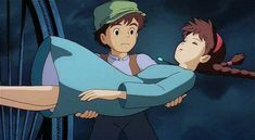 Pazu and Sheeta (from Castle in the Sky)