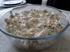 Tavuklu garnitürlü Yoğurtlu Salata