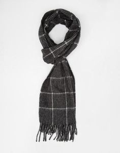 reiss couldson check scarf  blue #accessories #scarf #covetme Checked Scarf, Reiss, What To Wear, Blue, Stuff To Buy, Accessories, Fashion, Moda, Fashion Styles