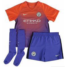 £17.99 Manchester City Kids Third Kit 2016 2017