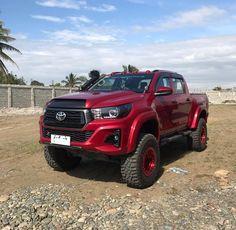 "Jose Carlo Yap on Instagram: ""🙌🏻🔥 #hilux #hiluxrevo #hiluxrevo #hiluxclub #hiluxclubph #toyotahilux #toyotahiluxrevo #hiluxtonka #4x4 #fuelwheels"" Toyota Hilux, Toyota Fortuner 2016, Hilux 2016, Toyota Tundra, Toyota Pickup 4x4, Toyota Trucks, Toyota Cars, Gmc Trucks, Jeep Truck"