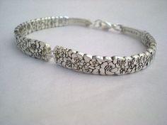 Spoon+Bracelet+Vintage+Silverware+Jewelry+by+monpetitchouboutique,+$29.99