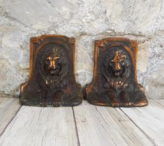 Check out our bookends selection for the very best in unique or custom, handmade pieces from our shops. Art Deco Era, Rare Antique, Bronze, Bookends, Lion Sculpture, Statue, Antiques, 1920s, Etsy