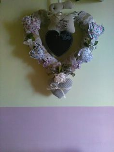 Birth shabby wreath!