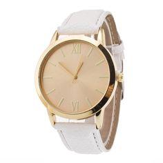 Jimshop Hot Sale Quartz Watch susentone Simple Women Ladies Roman Numerals Leather Band Wrist Watch Montre Femme Free Shipping #Affiliate