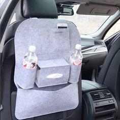 4ff30a05ce3e 8 Best Car Accessories Felt Seat Back Storage Bag images
