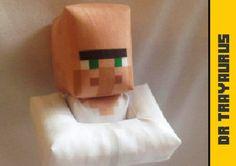Plush Minecraft Inspired Dr Trayaurus Toy – Crafting Nerdy