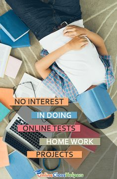 You will always keep dreading #onlinetests, #homework and #projects if you have no interest doing them. Call us and we'll help you handle all of it.  https://www.onlineclasshelpers.com/