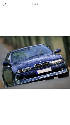Awesome BMW: BMW e39 Alpina, post-facelift (round fog lamps)...  München Motoren Check more at http://24car.top/2017/2017/08/03/bmw-bmw-e39-alpina-post-facelift-round-fog-lamps-munchen-motoren/