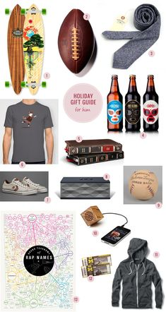 Holiday Gift Guide –– For Him