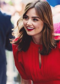 Jenna Coleman, she's so gorgeous! And amazing as Victoria