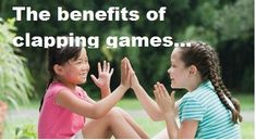 Hand-clapping games for everyone to enjoy! This article explains why hand-clapping is so developmentally helpful and offers links to several games. Educational Activities For Preschoolers, Classroom Activities, Activities For Kids, Preschool Learning, Music Education, Kids Education, Hand Clapping Games, Rainy Day Fun, Inspired Learning