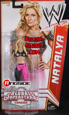 2012 WWE WWF Mattel Natalya Neidhart Wrestling Figure Global Superstar for sale online Wwe Action Figures, Custom Action Figures, Figuras Wwe, Ashley Massaro, Wrestling Superstars, Wrestling Divas, Wwe Toys, Wwe Elite, Total Divas