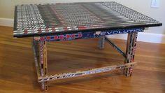 Hockey Stick Builds | Building furniture with hockey sticks!