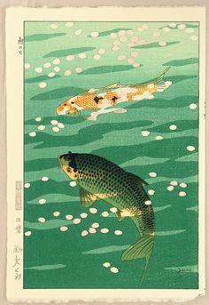 Kasamatsu Shiro - Carp - 1957