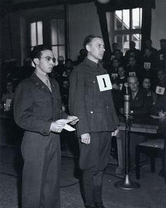 War criminal Hans Altfuldisch is sentenced to death by hanging at the Mauthausen war crimes trial.