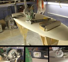 How to turn your garage into a Surfboard Shaping Bay. Making my own with Bruce! Can't wait till its done