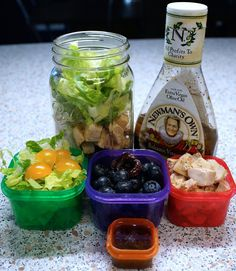 21 Day Fix Approved Mason Jar Salads // 21 Day Fix // 21 Day Fix Approved // fitness // fitspo Meal Prep // diet // nutrition // Inspiration // fitfood // fitfam // clean eating // recipe // recipes