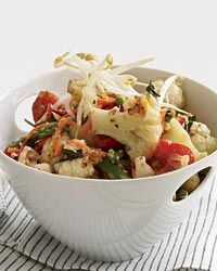 Stir-Fried Vegetables with Lemongrass Recipe from Food & Wine