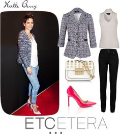 """""""Celebrity Looks with Etcetera"""" by katehinkle ❤ liked on Polyvore"""