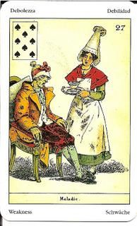 Sibilla Oracle (La Sibylle des Salons) Card Meanings – Golden Mousedeer Ace Of Hearts, Tarot Meanings, Remember The Name, Cartomancy, Meant To Be, Funny, Salons, Cards, Painting
