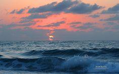 Painted Sky Brookburling Natur Photography Ocean Abstract Sun Sea Landscape Sunrise Cloud Sunset Water Scene Dawn Dusk Dual Wallpaper