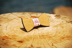 Wooden bow tie Bicycle di JVStore su Etsy