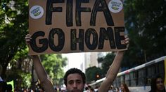Anti-World Cup protests in Brazilian cities mark countdown to kick-off - The Guardian
