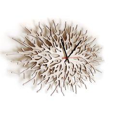 Dezign4u: Asymmetree. Parametric + Laser Cut Clocks