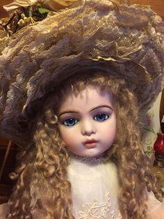 "BREATHTAKING 26"" Bru Jne 13 French Bebe Doll! Fabulous Antique Costume"