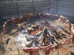 Sheperd's traditional way to bbq sheep in Crete - Explore everyday life with dromolatis.gr