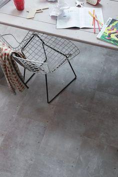 Gerflor : revetement de sol en vinyle imitation parquet ou matière brute - CôtéMaison.fr