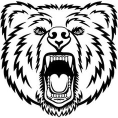 vector grizzly bear football player stock illustration royalty rh pinterest com