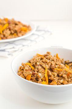Vegan Mango Granola | http://minimaleats.com/vegan-mango-granola/
