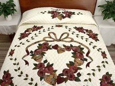 Country Love Quilt -- terrific ably made Amish Quilts from Lancaster (hs3042)