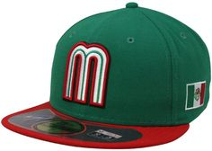 Mexican World Baseball Classic hat - It's unique and clever and fun in a kind of 1973 way.