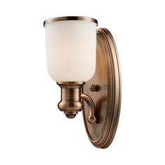 International Brooksdale collection 1-Light Sconce In Antique