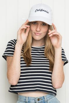 Brandy ♥ Melville   Katherine California Cap - Hats & Beanies - Accessories